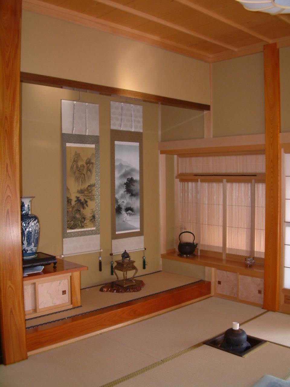 日本の古き良き伝統、やはり欲しい和室。